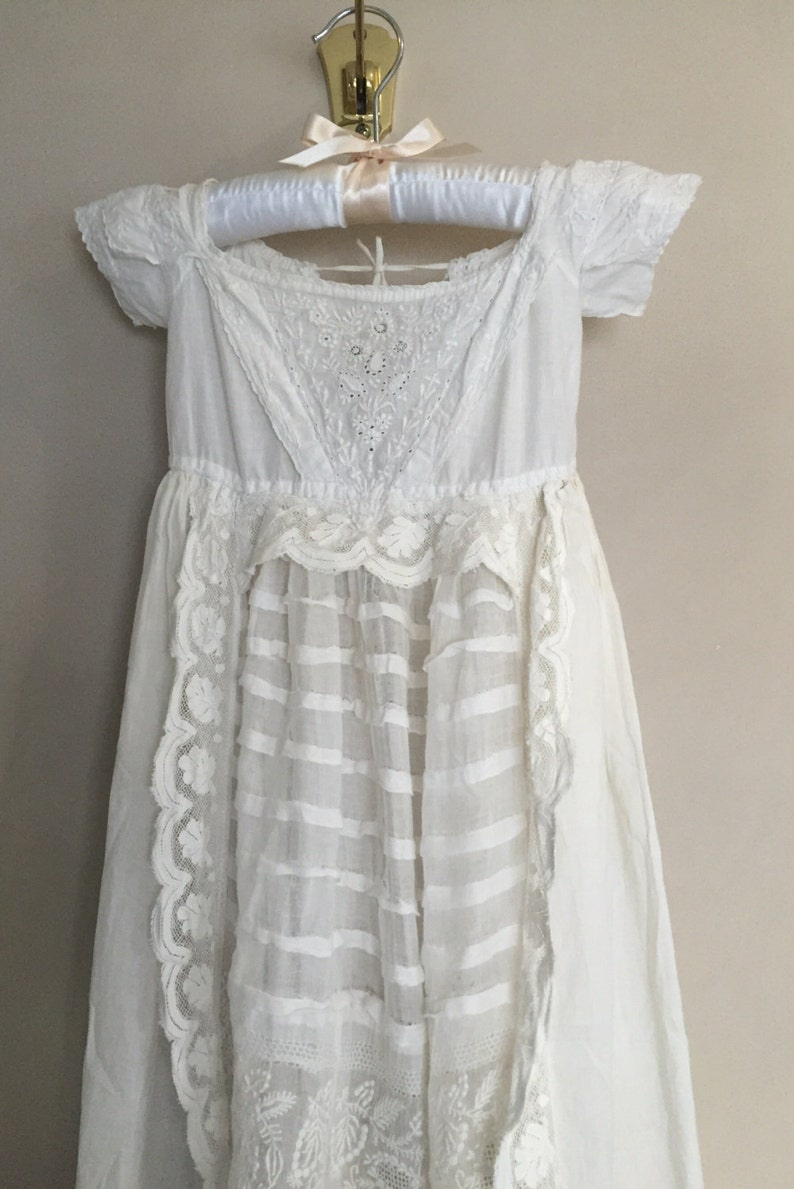 c69d651782cd Antique Victorian Christening Gown Beautiful Vintage