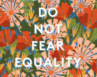 People of Quality Do Not Fear Equality - 11x17 Poster