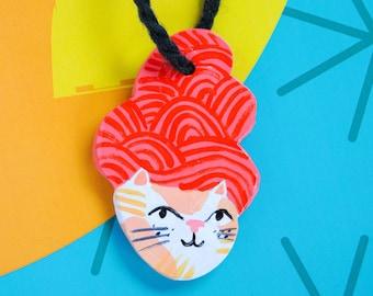 Cat Ornament No. 29