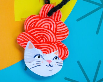 Cat Ornament No. 30