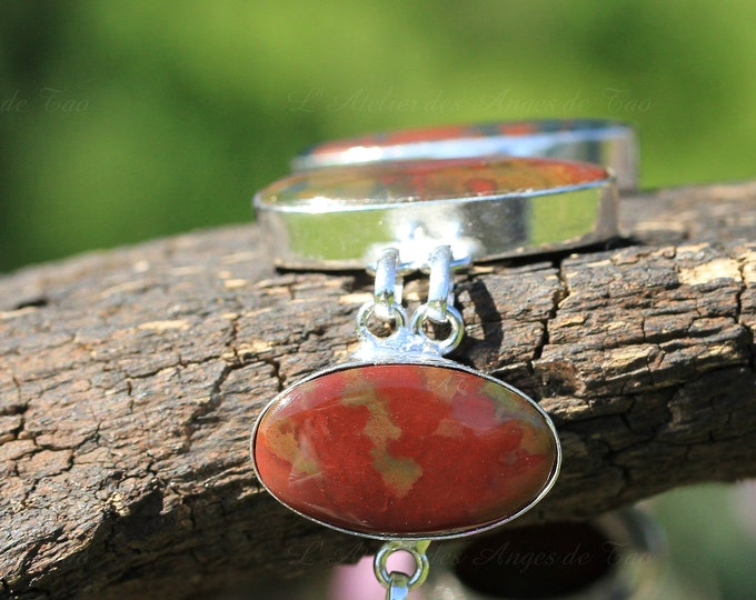 Bloodstone blood bracelet Dragon bloodstone bracelet