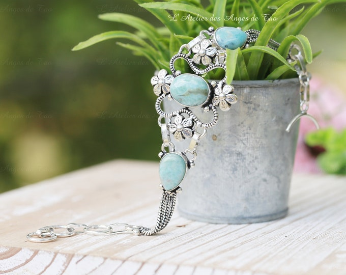 Larimar bracelet femme collection Luxe