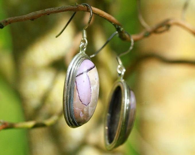 Rare Tiffany stone earrings tiffany bertrandite earrings