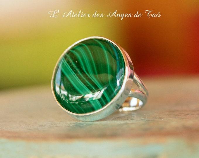 Beautiful Malachite ring