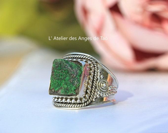 Garnet ring method, Garnet ring size 54 or 7 US, rare stone