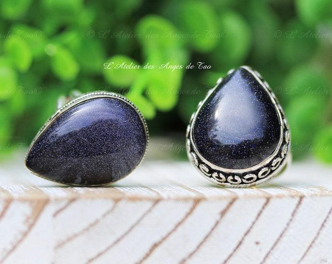 Blue sandstone ring blue sandstone stimulates premonitory dreams