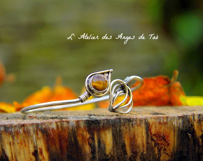 Beautiful Tiger eye bracelet, adjustable size
