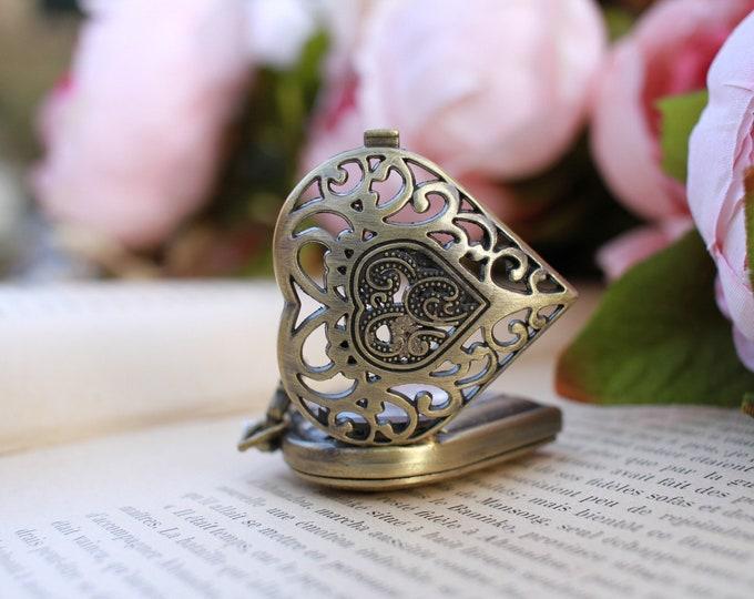 Antique Bronze Gousset Watch