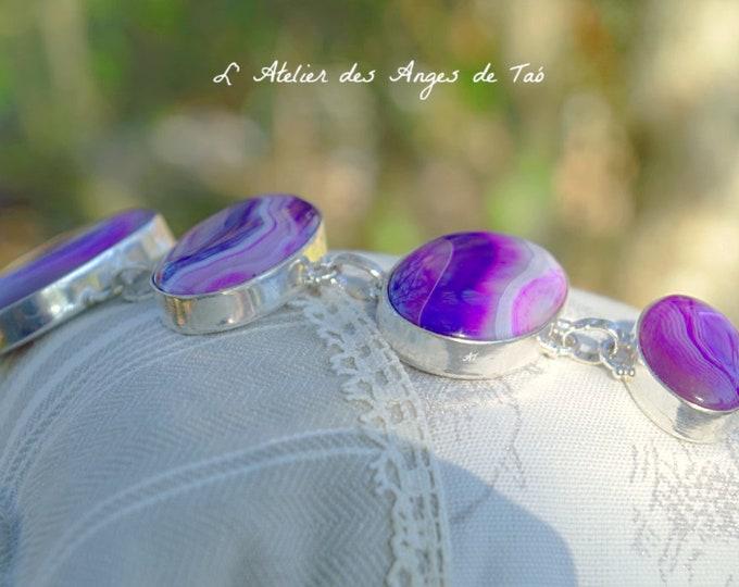 Agate botswana bracelet