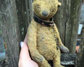 Artist teddy bears ooak-old bear