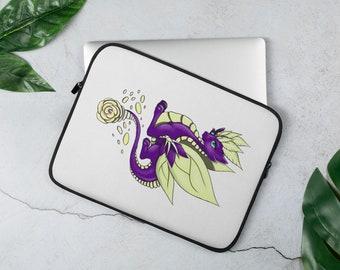Rose Dragon Laptop Sleeve
