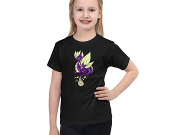 Rose Dragon Short sleeve kids t-shirt