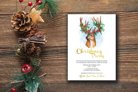 weihnachten party einladung weihnachten einladung vorlage. Black Bedroom Furniture Sets. Home Design Ideas