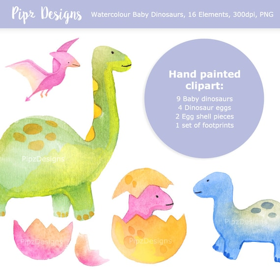 Flower dinosaurs and tropical leaves clipart PNG on transparent background Easter dinosaurs clip art instant download DIY Easter dino card