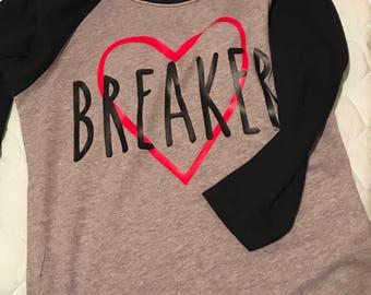Boy's Heart breaker shirt