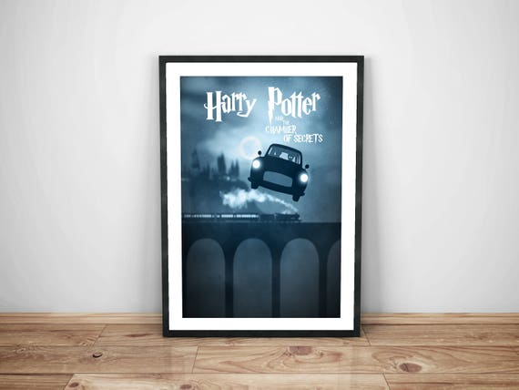 Camera Da Letto Stile Harry Potter : Poster di harry potter segreti camera da letto poster harry etsy