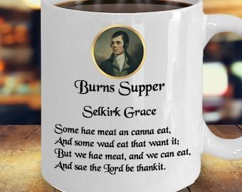 Robbie Burns Night, Rabbie Burns, Burns Supper, Auld Lang Syne Cup, Scottish Tradition, Haggis, Robbie Burns Gift, Selkirk Grace, Burns Day