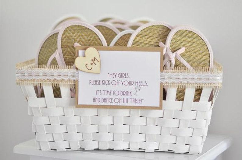 7ac054fd7 25 Dancing Shoes Basket for Wedding