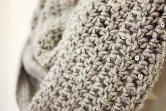 Crochet Pattern Easy Scarf Womens Cowl Easy Beginners Crochet Etsy