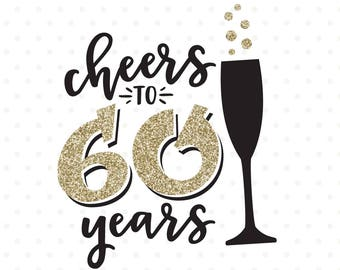 30th Birthday Svg Cheers To 30 Years Svg File 30th Etsy