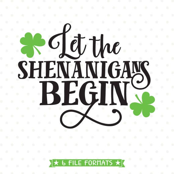45+ Mister Shenanigans St. Patrick's Day Svg Crafter Files