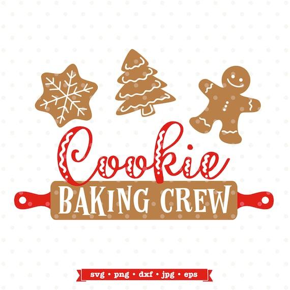 Holiday baking team svg Christmas SVG Christmas Cookie SVG