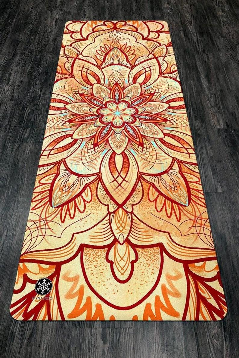 YOGA MAT Desert Mandala Mandala Yoga Mat Desert Mandala image 0