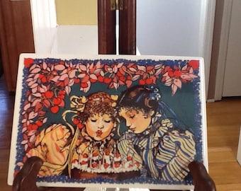 Villeroy & Boch Porcelain Postcard