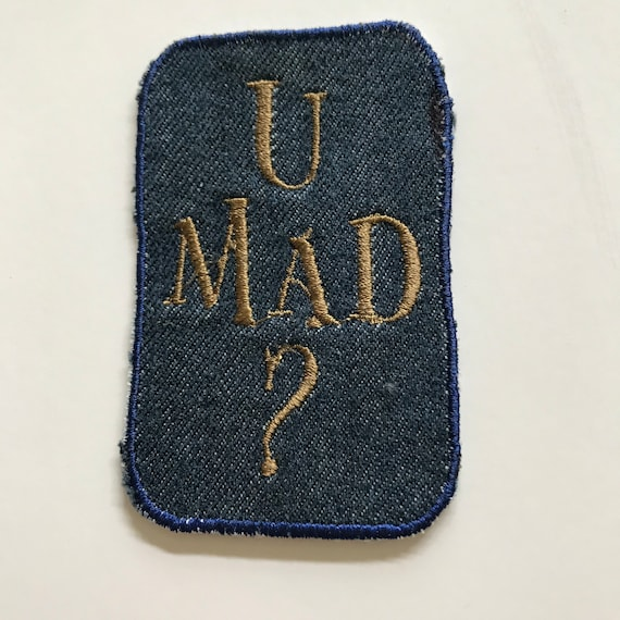 You mad patch u mad african american slang black girl etsy image 0 m4hsunfo