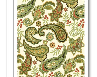 Paisley Greeting Card BP07
