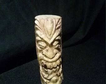 Hand carved tree spirit/tiki. #06