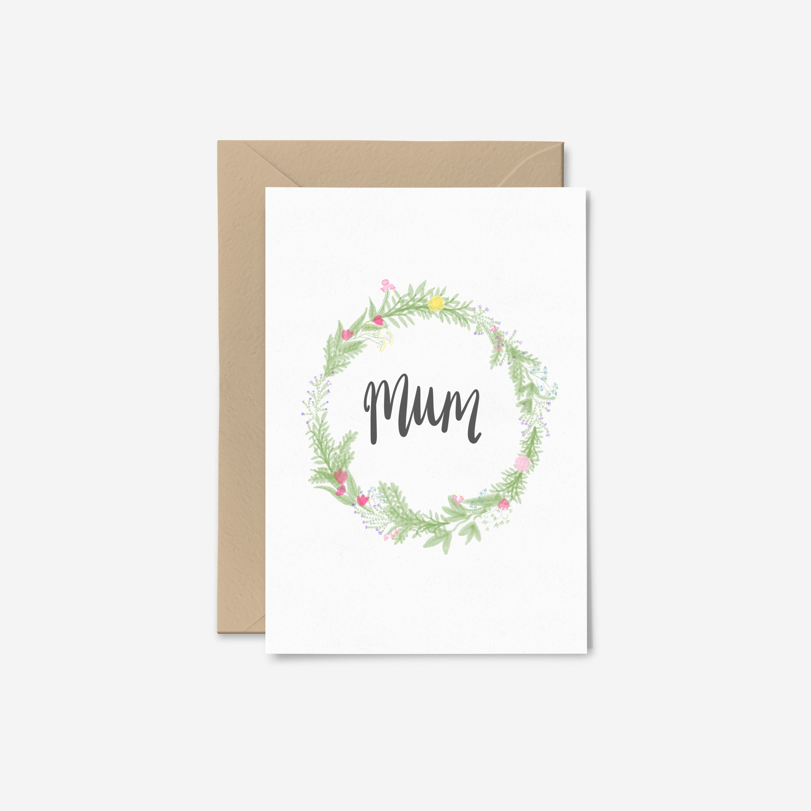 Mum Card Birthday Thank You Mother Of