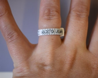 Reusable Ring Sizer - Ring sizing tool - Finger Size - UK Ring Sizer - Adjustable Ring Sizer - Ladies Ring Sizer - Men's Ring Sizer