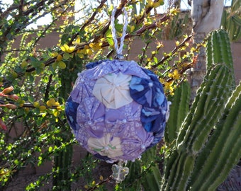 Fabric Yo-Yo Ornaments