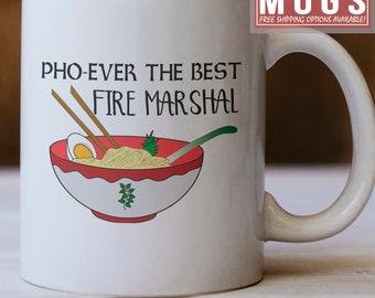 Yoda Best Fire Marshal Mug Funny Fire Marshal Gift Idea Fire Marshal Mug