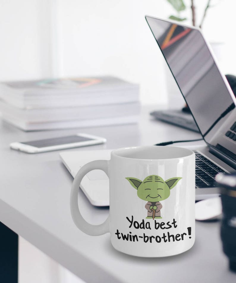 Best Twin-Brother Mug  Yoda Best Twin-Brother Gift  image 0