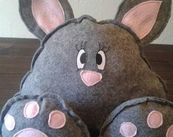 Big Foot Kitty Cat Stuffed Animal Plushie plush