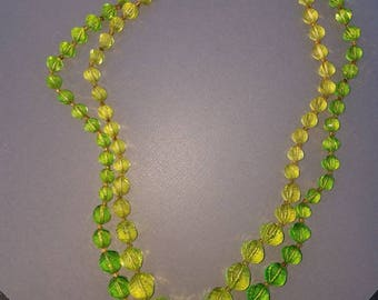 Vintage Art Deco beaded necklace