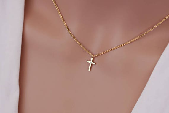 New 925 Sterling Silver Chain Rosary Jesus Crystal Cross Pendant Necklace