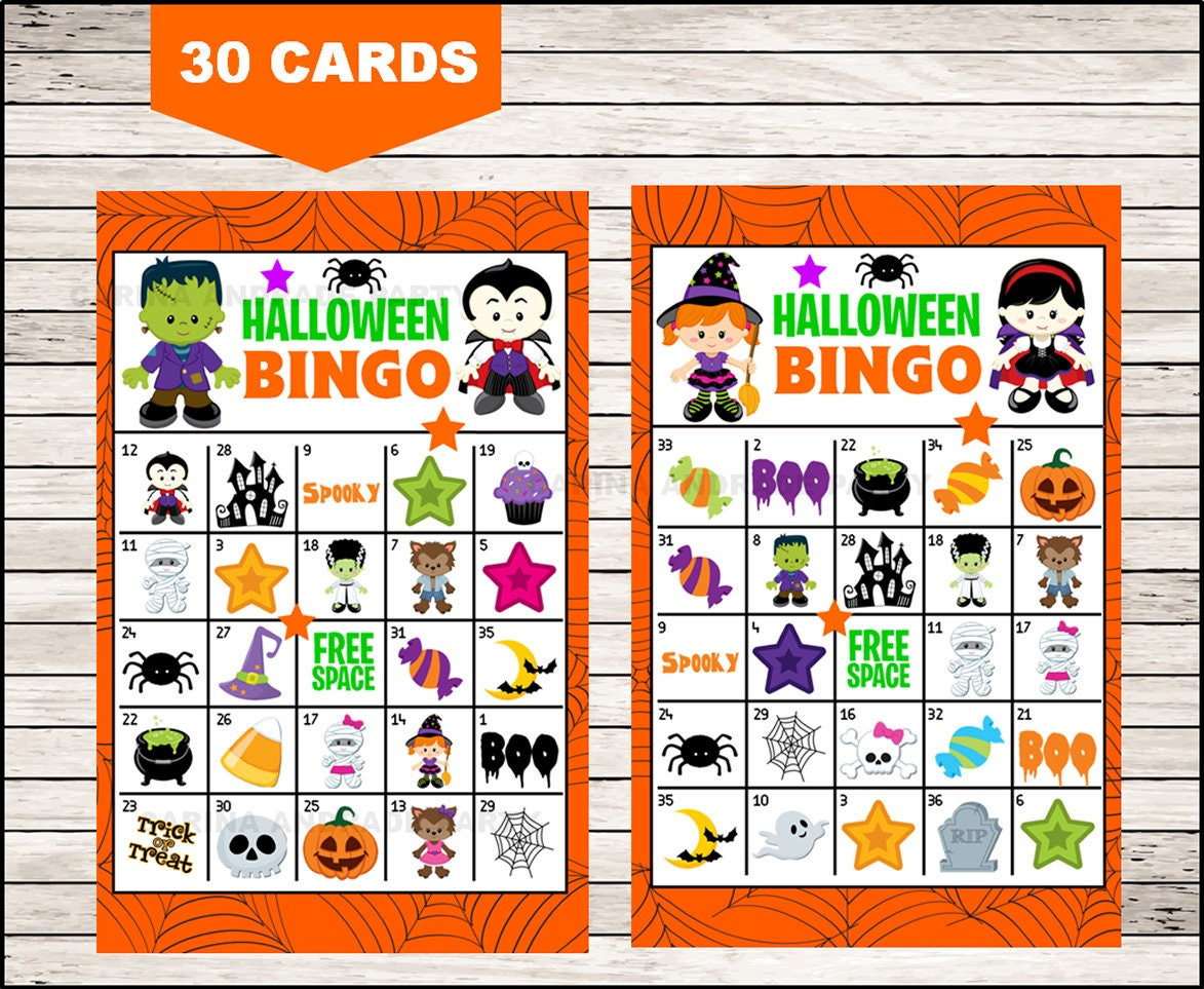 photograph regarding 25 Printable Halloween Bingo Cards named Printable 30 Halloween Bingo Playing cards; printable Halloween Bingo recreation, Halloween printable bingo playing cards immediate obtain