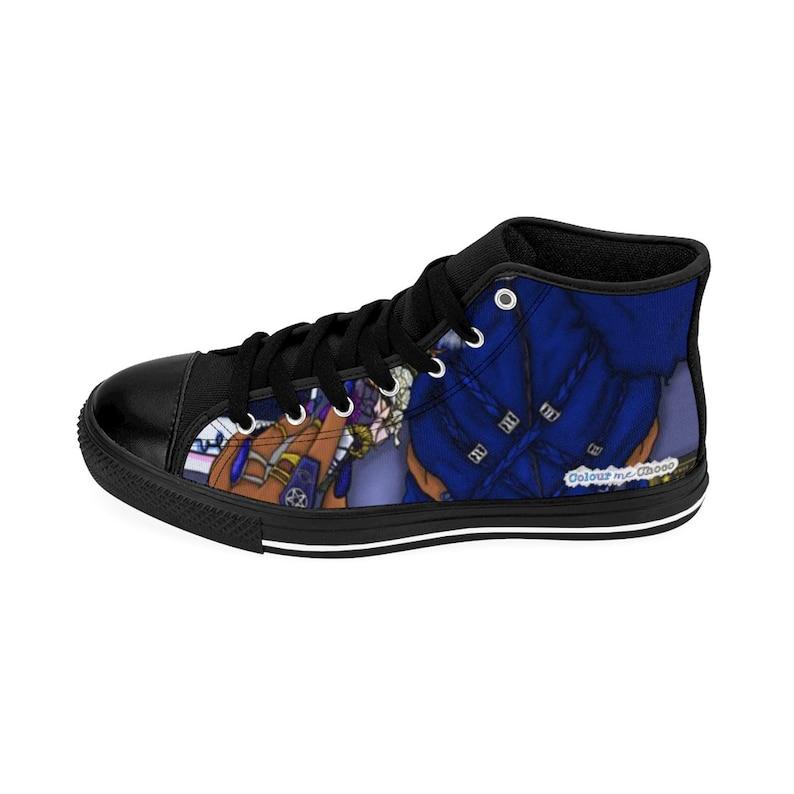 Hood Bruja High-top Sneakers