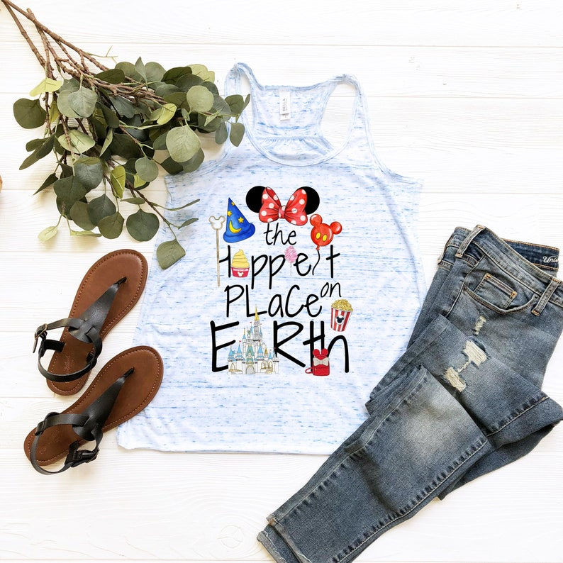 disneyland disney shirt The Happiest place on earth shirt mouse magical vacation mom ears castle dolewhip disneyworld minnie