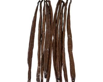 Extra Long Madagascar Bourbon Vanilla Beans by Slofoodgroup (Gourmet, Grade A) Vanilla Planifolia various size availble