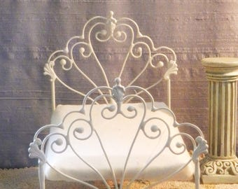 """Dollhouse Miniature Bed """"BRYONNY"""" 1:12 Scale Twin and Full, Half Scale"""