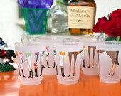 Kentucky Derby Party Frosted Roadie Cup (10 Pack)