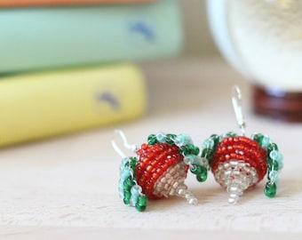 Lovegood Moon Earrings, Rabano luna Lovegood earrings, airship plums, Rabano earrings, Luna Lovegood