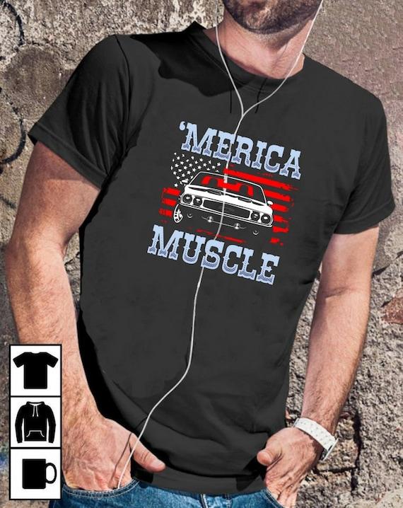 62a56514 Muscle Car Shirt Muscle Car Car Shirt Muscle Cars Classic | Etsy