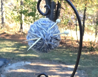 Yarn Ball Ornaments for Knitters