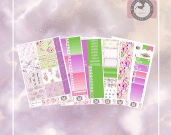 Hummingbird, Full weekly sticker kit, Planner sticker kit for the vertical Erin Condren or Happy Planner