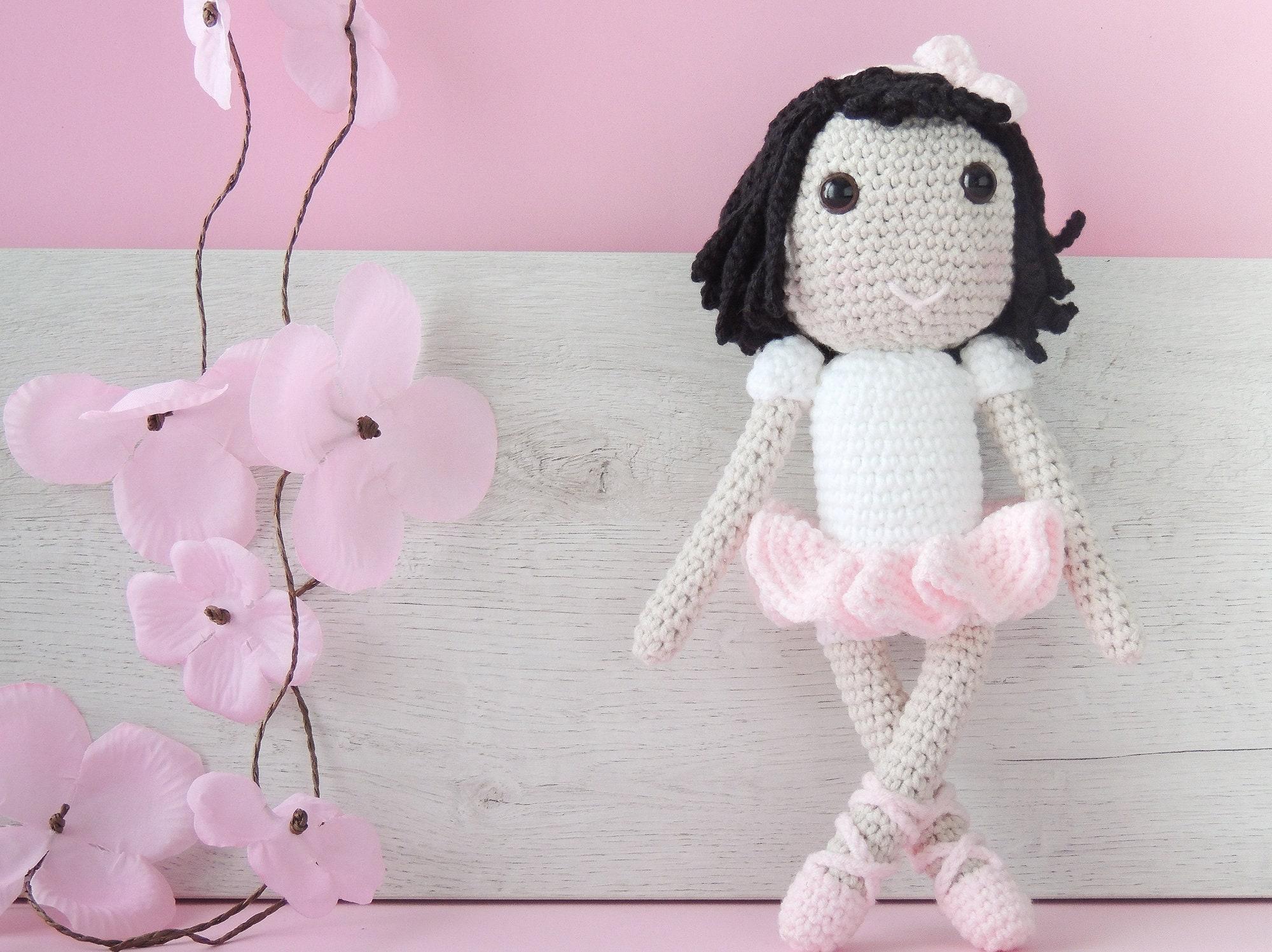Muñeca bailarina muñeca amigurumi muñeca crochet muñeca de | Etsy